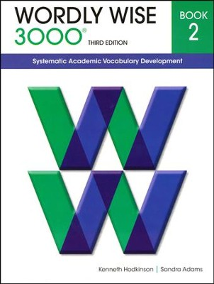 Wordly Wise 3000 Student Book Gr 2, 3rd Edition   -     By: Kenneth Hodkinson, Sandra Adams