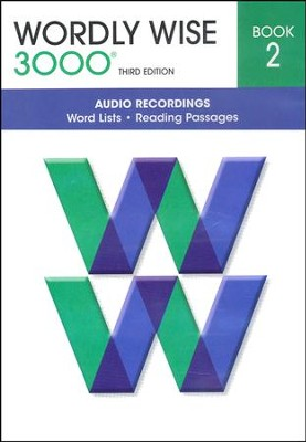 Wordly Wise 3000 Audio CD Book 2, 3rd Edition Set   -