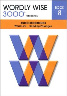 Wordly Wise 3000 Book 8 Audio CD, 3rd Edition   -