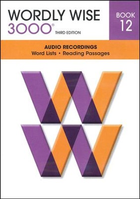 Wordly Wise 3000 Book 12 Audio CD, 3rd Edition   -