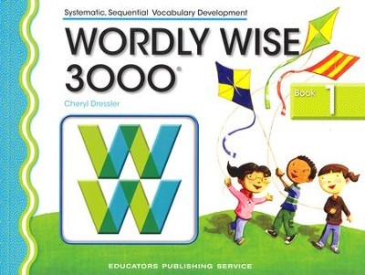 Wordly Wise 3000 Student Book Grade 1, 3rd Edition   -     By: Kenneth Hodkinson, Sandra Adams