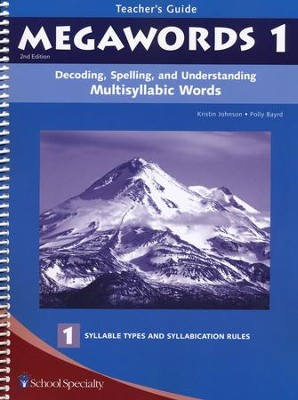 Megawords 1 Teacher's Guide, 2nd Edition   -