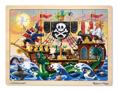 Pirate Adventure Jigsaw Puzzle, 48 pieces  -
