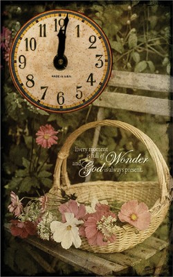 Every Moment Is Full of Wonder Clock  -