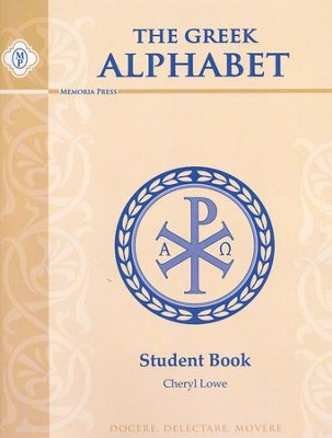 Greek Alphabet Book- Student  -