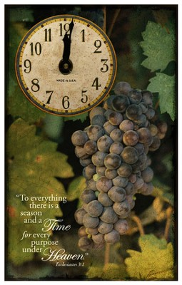 To Everything There Is A Season Clock  -