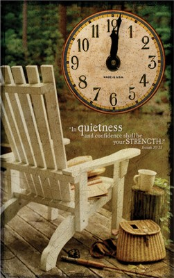 In Quietness and Confidence Clock  -