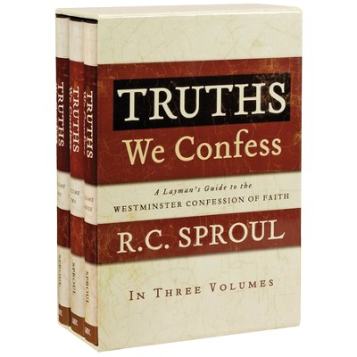 Truths We Confess, 3 Volume Boxed Set   -     By: R.C. Sproul