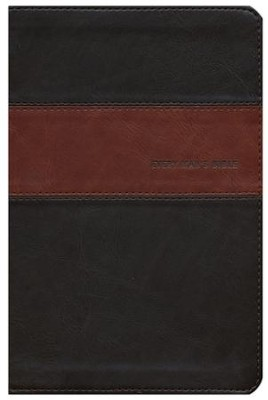 NIV Every Man's Bible Heritage Edition, Tutone Leatherlike - Imperfectly Imprinted Bibles  -