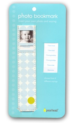 Photo Bookmark Baby Boy Blue   -