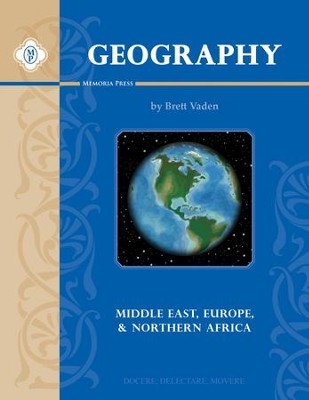 Geography 1, Text (Middle East, Europe, & North Africa)  -     By: Brett Vaden