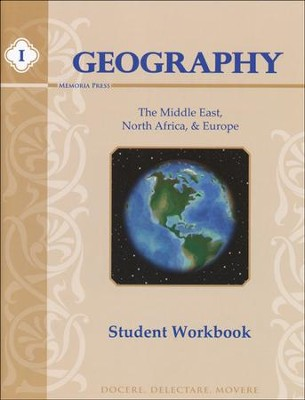 Geography 1, Workbook (Middle East, Europe, & North Africa)  -     By: Laura Bateman