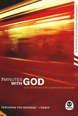 7 Minutes with God: Daily Devotions for a Deeper Relationship   -