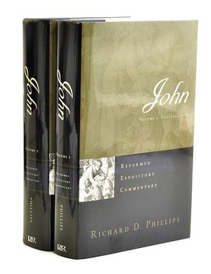 John: Reformed Expository Commentary [REC]   -     By: Richard D. Phillips