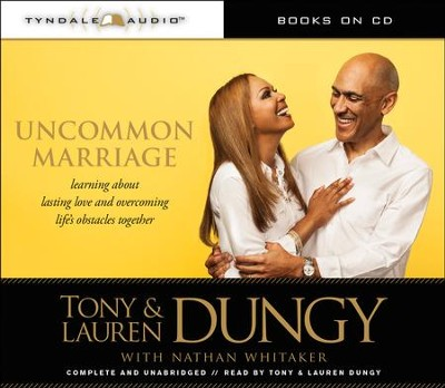 Uncommon Marriage: Learning about Lasting Love and Overcoming Life's Obstacles Together (audio-CD)  -