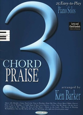 3-Chord Praise: Easy-to-Play Solos   -