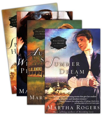 Seasons of the Heart Series, Volume 1-4  -     By: Martha Rogers