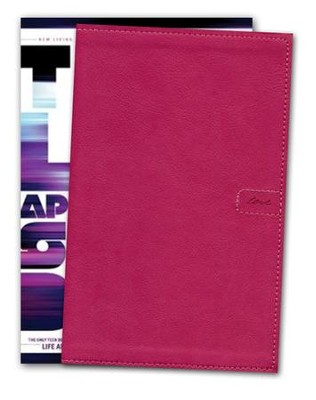 NLT Teen Life Application Study Bible, Compact Pink Love Leatherlike  -