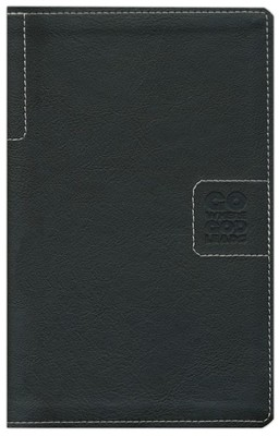 NLT Teen Life Application Study Bible, Compact Black Go Leatherlike  -