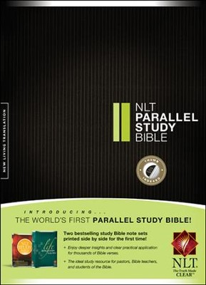 NLT Parallel Study Bible, Indexed Hardcover  -
