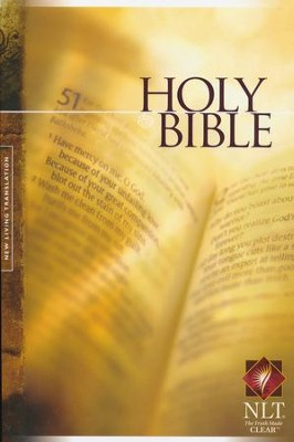 NLT Holy Bible Text Edition, Paperback  -