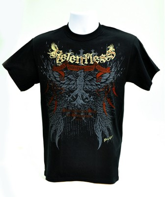 Relentless Shirt, Black, Extra Large  -