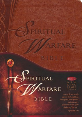 NKJV Spiritual Warfare Bible   -