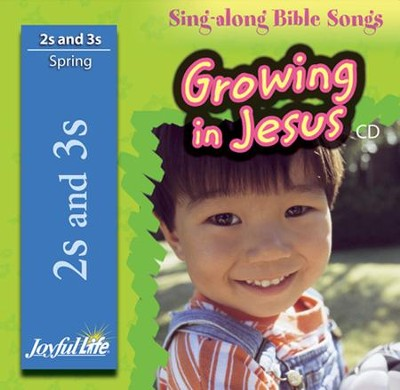 Growing in Jesus (ages 2 & 3) Audio CD   -