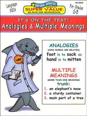 Analogies & Multiple Meanings--Grades 2 to 3   -