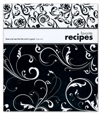 Taste and See That the Lord is Good Recipe Binder  -