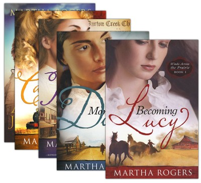 Winds Across the Prairie Series, 6 Volumes  -     By: Martha Rogers