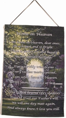 Home In Heaven Wall Hanging  -