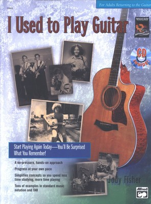 I Used to Play Guitar Book & Audio CD   -     By: Jody Fisher