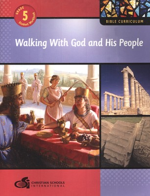 Walking With God and His People - Student Workbook (Grade 5)  -