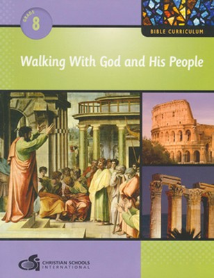 Walking With God and His People - Teacher's Guide (Grade 8)  -
