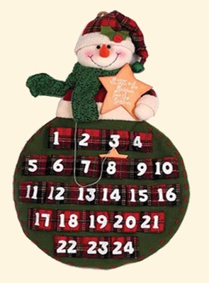 Jesus is the Reason, Snowman Advent Calendar  -