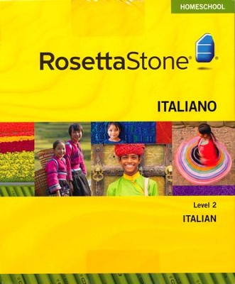 Rosetta Stone Italian Level 2 with Audio Companion Homeschool Edition, Version 3  -