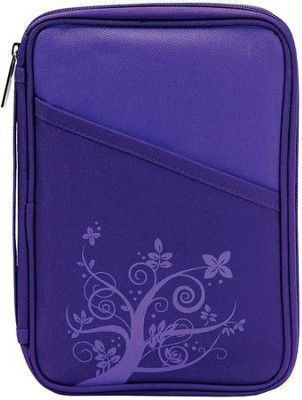 Thinline Purple Bible Cover  -