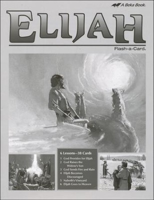Extra Elijah Bible Story Lesson Guide   -