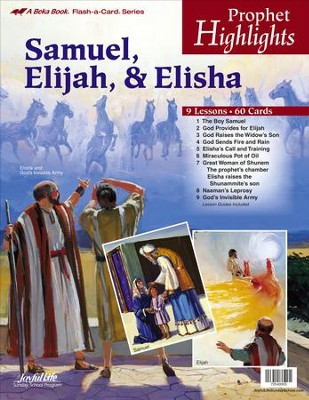 Prophets Highlights Extra Lesson Guide   -