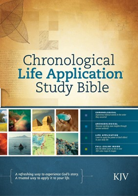 Chronological Life Application Study Bible KJV - eBook  -