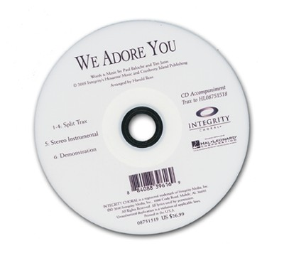 We Adore You (CD-Trax)   -