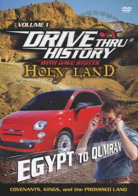 Drive Thru History with David Stotts #1: Covenants, Kings and the Promised Land DVD, Egypt to Qumran  -     By: Dave Stotts