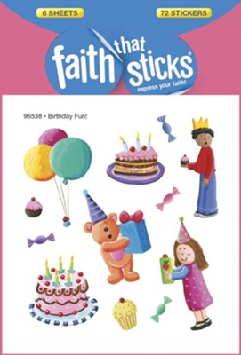 Birthday Fun! Stickers  -