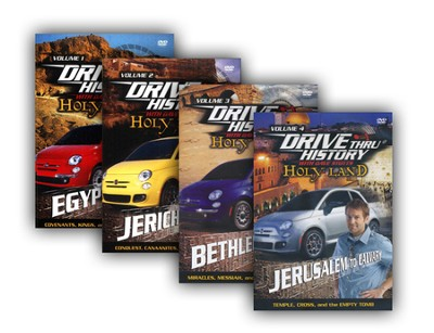 Drive Thru History 4 Volume DVD Pack, Volumes 1-4   -     By: Dave Stotts
