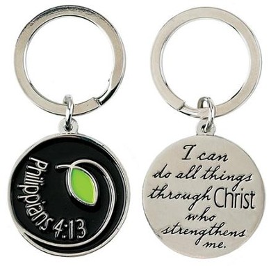 I Can Do All Things, Philippians 4 13 Keyring  -