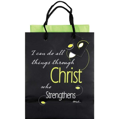 I Can Do All Things Giftbag, Small  -