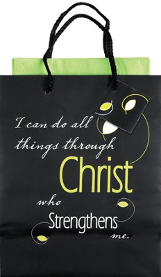 I Can Do All Things Gift Bag, Medium   -