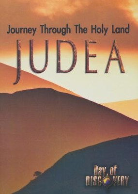 Journey Through the Holy Land-Judea DVD  -