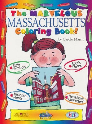 The Marvelous Massachusetts Coloring Book   -     By: Carole Marsh